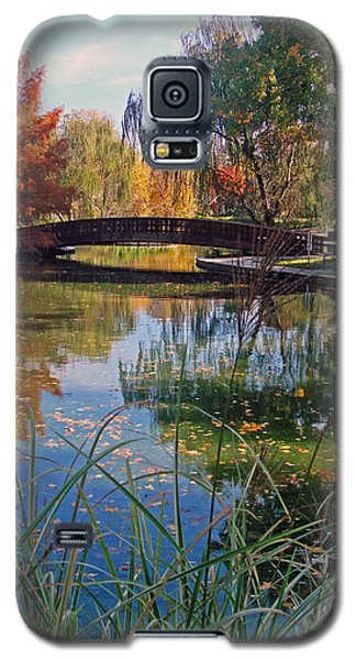 Loose Park In Autumn Galaxy S5 Case by Ellen Tully