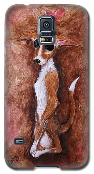 Loretta Chihuahua Big Eyes  Galaxy S5 Case