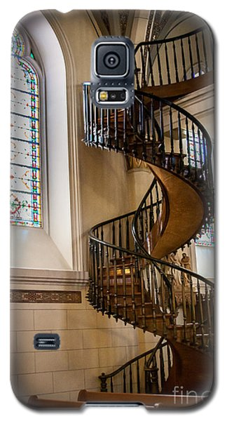 Loretto Chapel Staircase Galaxy S5 Case by Jim McCain