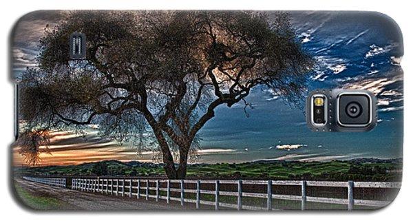 Los Alamos Vineyard Oak Galaxy S5 Case