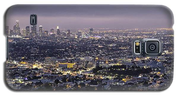 Los Angeles At Night From The Griffith Park Observatory Galaxy S5 Case