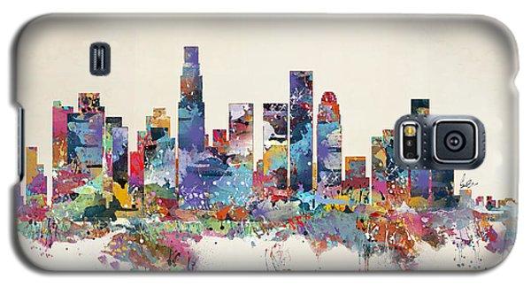 Los Angeles California Skyline Galaxy S5 Case by Bri B