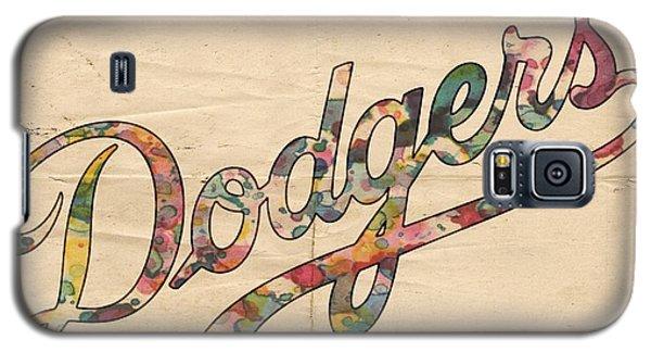 Los Angeles Dodgers Poster Vintage Galaxy S5 Case