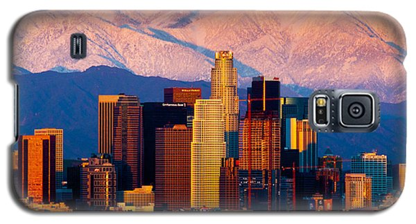 Los Angeles In Winter Galaxy S5 Case
