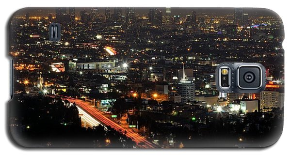 Los Angeles Lights Galaxy S5 Case by Paul Noble