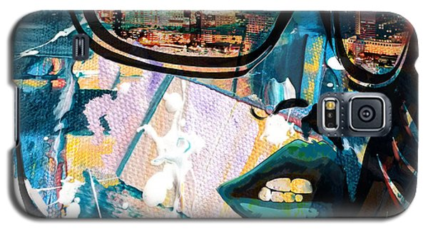 Los Angeles Skyline Galaxy S5 Case by Corporate Art Task Force