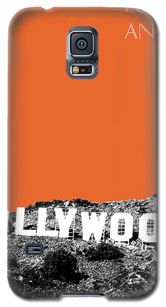 Los Angeles Skyline Hollywood - Coral Galaxy S5 Case
