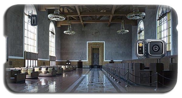 Los Angeles Union Station - Custom Galaxy S5 Case by Belinda Greb