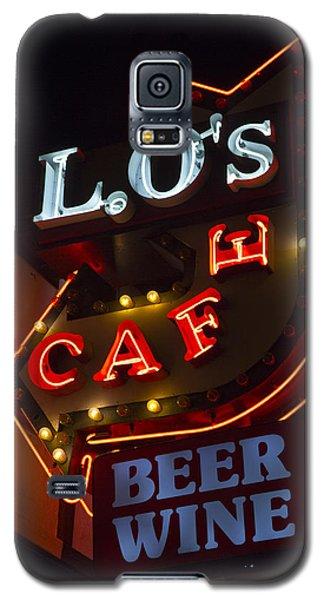 L.o's Cafe Galaxy S5 Case
