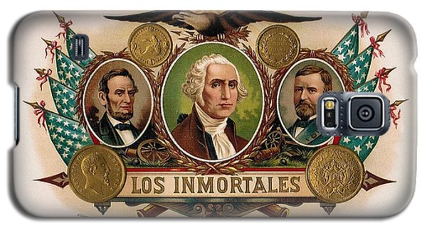 Los Inmortales Cigar Box Label Galaxy S5 Case by Maciek Froncisz
