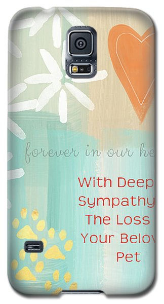 Card Galaxy S5 Case - Loss Of Beloved Pet Card by Linda Woods