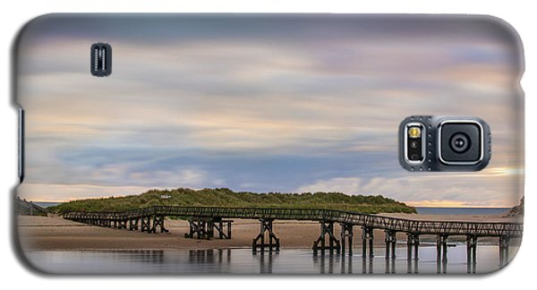 Lossiemouth Walk Bridge Galaxy S5 Case