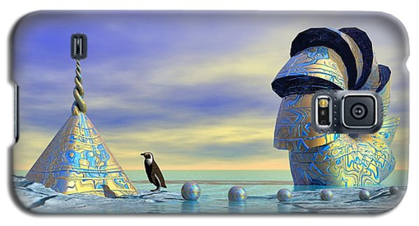 Lost And Found - Surrealism Galaxy S5 Case by Sipo Liimatainen