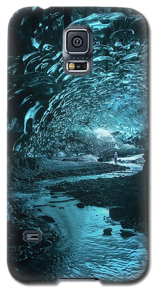 Cold Galaxy S5 Case - Lost And Frozen World by Javier De La