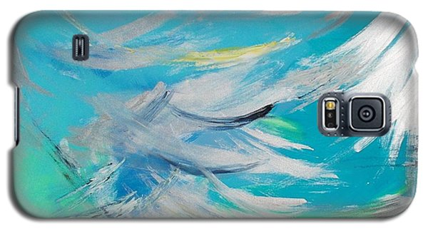 Galaxy S5 Case featuring the painting Lost At Sea by PainterArtist FIN