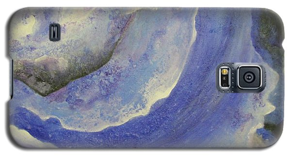 Galaxy S5 Case featuring the painting Lost In Space  by Riana Van Staden