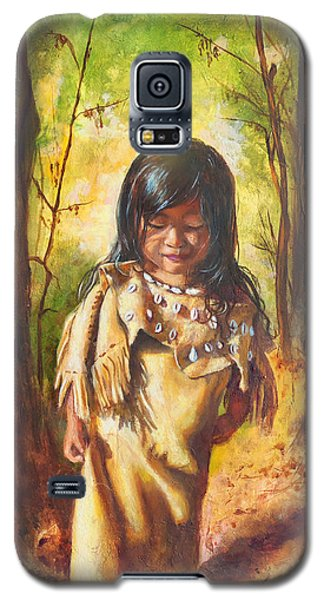 Lost In The Woods Galaxy S5 Case by Karen Kennedy Chatham