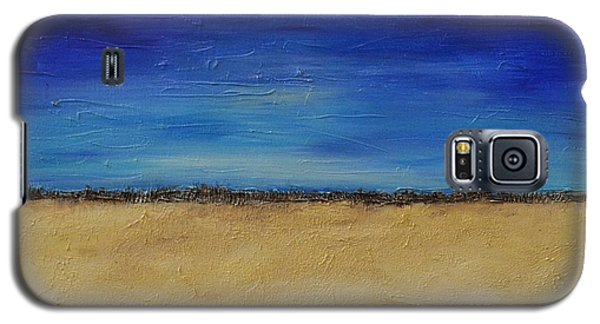 Galaxy S5 Case featuring the painting Lost In Thought by Lori Jacobus-Crawford