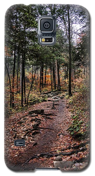 Galaxy S5 Case featuring the photograph Lost In Thought On The Blue Ridge Parkway Trail by Debbie Green