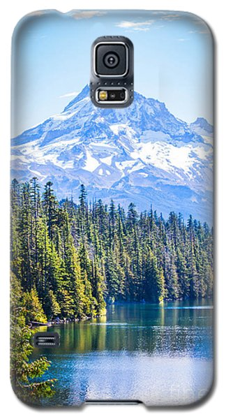 Lost Lake Morning Galaxy S5 Case by Patricia Babbitt
