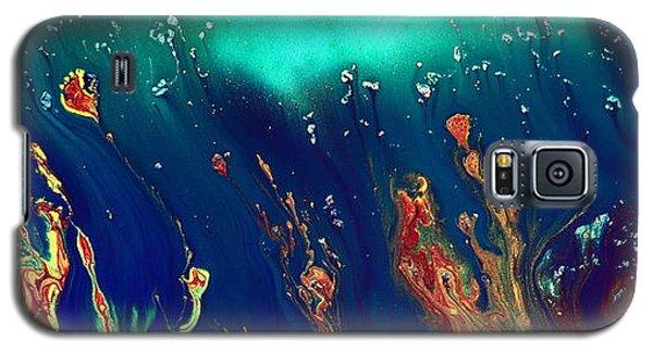 Lost World - Liquid Abstract By Kredart Galaxy S5 Case