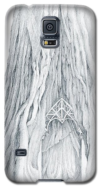 Lothlorien Mallorn Tree Galaxy S5 Case by Curtiss Shaffer