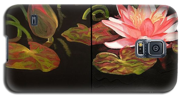 Lotus Bud To Bloom Galaxy S5 Case by Janet McDonald