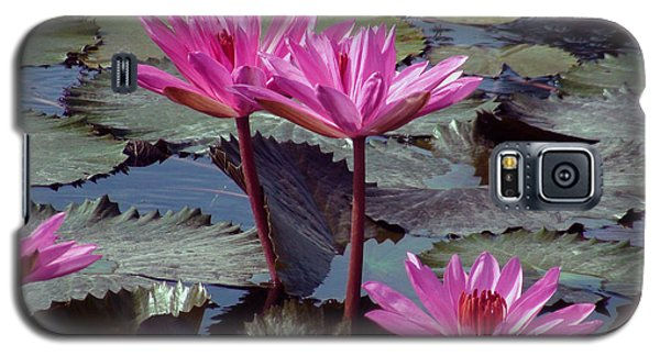 Galaxy S5 Case featuring the photograph Lotus Flower by Sergey Lukashin