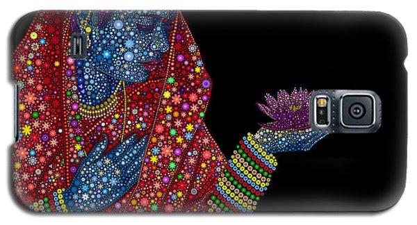 Lotus Girl Galaxy S5 Case