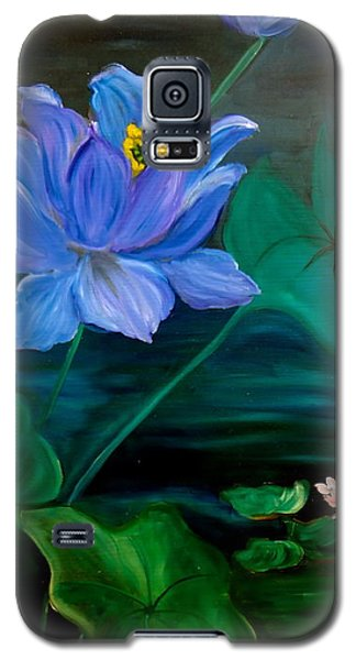 Lotus Galaxy S5 Case by Jenny Lee