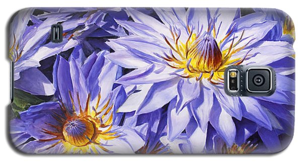 Lotus Light - Hawaiian Tropical Floral Galaxy S5 Case