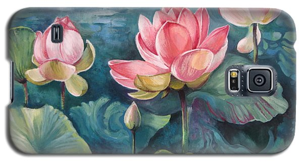 Lotus Pond Galaxy S5 Case by Elena Oleniuc