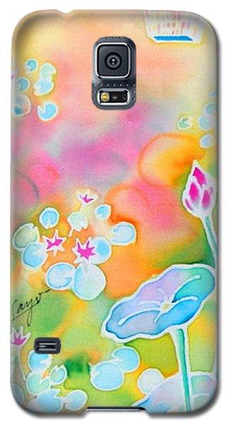Lotus Pond Galaxy S5 Case