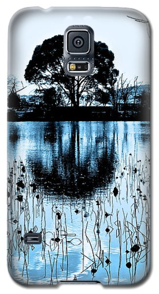 Lotus Pond Winter - 4 Galaxy S5 Case
