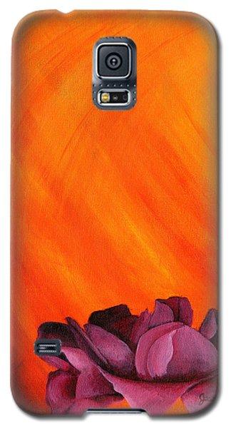 Lotus Rose Galaxy S5 Case