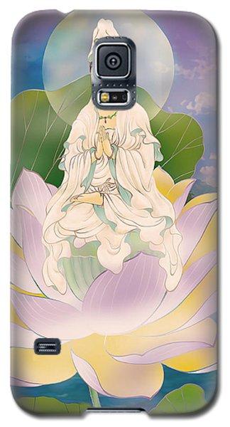 Lotus-sitting Avalokitesvara  Galaxy S5 Case