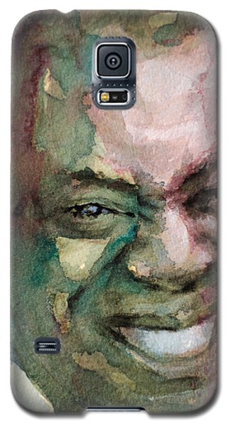 Louis Armstrong Galaxy S5 Case by Laur Iduc