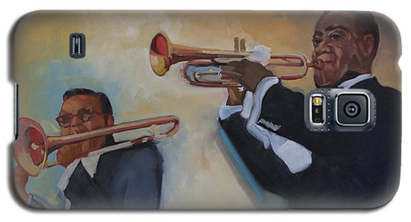 Louis Armstrong With Russell Big Chief Moore                       Galaxy S5 Case
