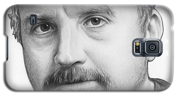 Louis Ck Portrait Galaxy S5 Case by Olga Shvartsur