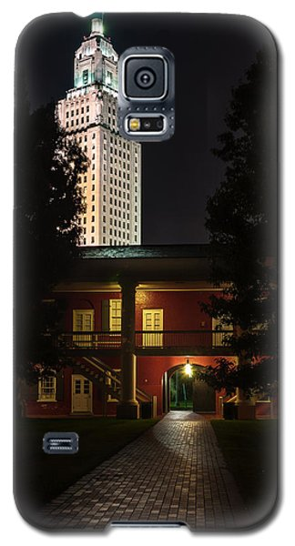 Louisiana State Capitol And Pentagon Barracks Galaxy S5 Case by Andy Crawford