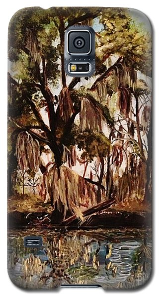 Galaxy S5 Case featuring the photograph Louisiana Bayou by Brigitte Emme