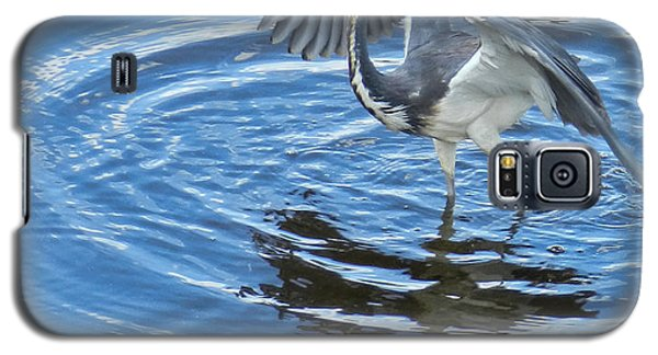 Louisiana Heron Galaxy S5 Case