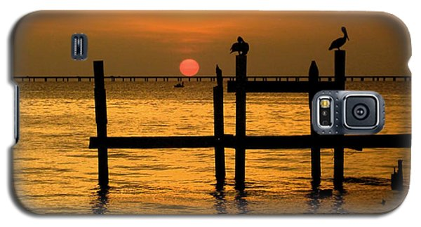 Galaxy S5 Case featuring the photograph Louisiana Sunset  by Kathy Bassett