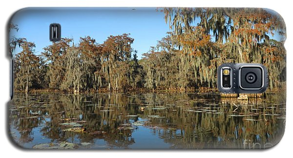 Galaxy S5 Case featuring the photograph Louisiana Swamp by Martin Konopacki