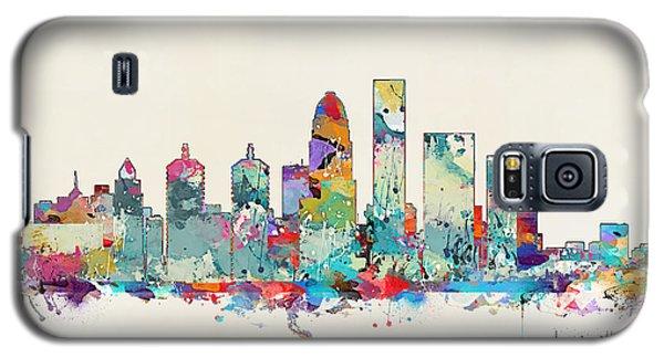 Louisville Kentucky Skyline Galaxy S5 Case by Bri B