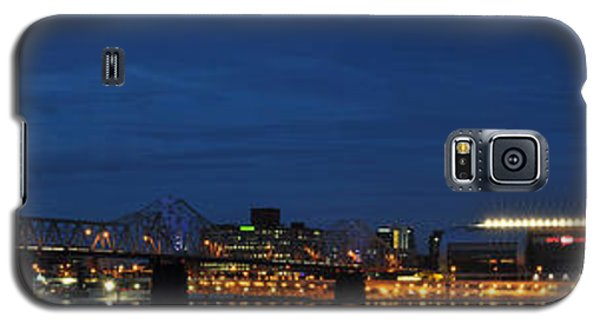 Galaxy S5 Case featuring the photograph Louisville Skyline by Deborah Klubertanz
