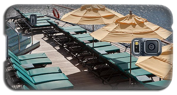 Lounge Chairs On A Cruise Ship Galaxy S5 Case
