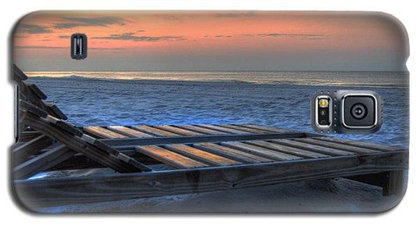 Lounge Closeup On Beach ... Galaxy S5 Case
