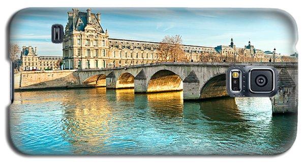 Louvre Museum And Pont Royal - Paris  Galaxy S5 Case