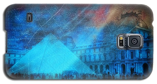 Galaxy S5 Case featuring the photograph Louvre Museum by James Bethanis